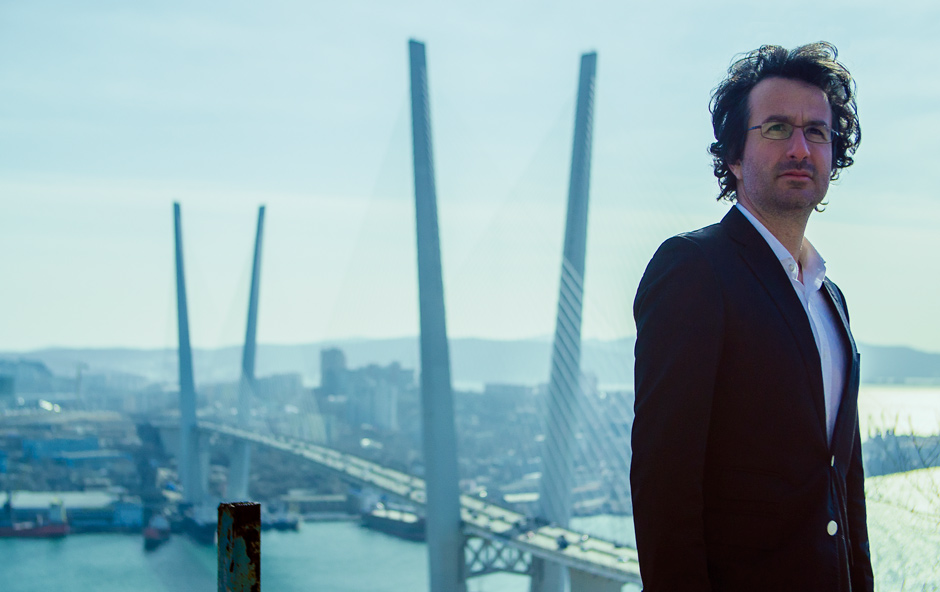 "Marios Joannou Elia, composer and artistic director of ""Sound of Vladivostok"" (c) Kostis Nikolas"