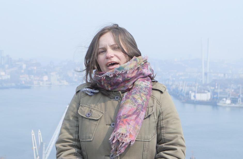 "Olga Katrenko performing in Marios Joannou Elia's ""Sound of Vladivostok"" (c) SoV"