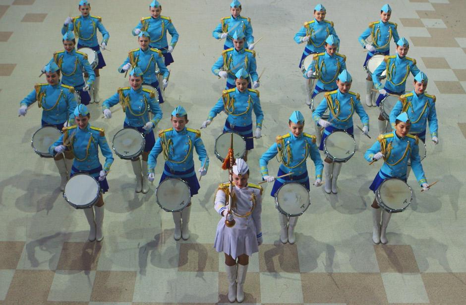 """Отряд барабанщиц Drum Squad in Marios Joannou Elia's """"Sound of Vladivostok"""" (c) SoV"""