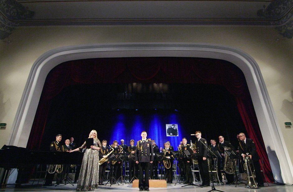 "Orchestra of the Pacific Fleet of Russia performing in Marios Joannou Elia's ""Sound of Vladivostok"" (c) SoV"